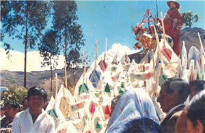 Procesión de San Isidro Labrador en Ayacucho