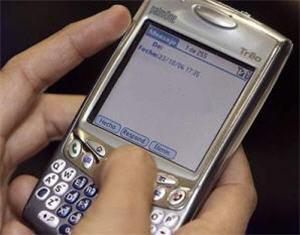 sms Lenguaje escrito del mensaje de texto