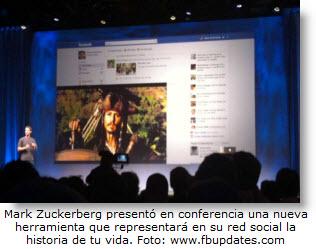 """Nueva herramienta """"Timeline"""" de Facebook sacará roncha a Google +"""