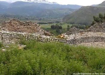 Sitio arqueológico preinca Uyo Uyo en Arequipa