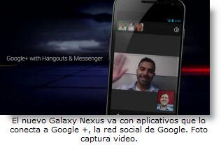 El nuevo Galaxy Nexus estará conectado a Google + - Noticias tecnológicas