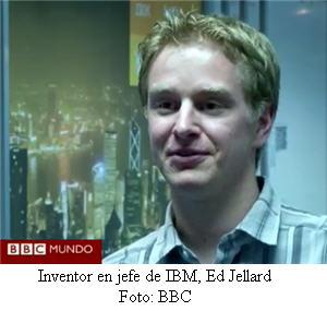 Inventor en jefe de IBM, Ed Jellard - noticias