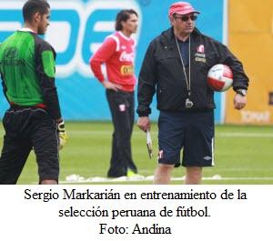 Entrenamiento de la selección peruana en la Videna - noticias