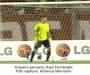 arquero peruano Raúl Fernández - noticias
