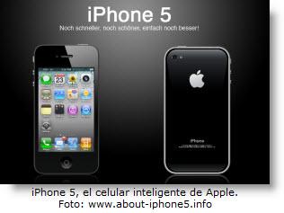 Características priciipales dle iPhone 5 - Noticias de tecnología.
