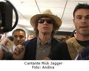 Mick Jagger llega a Lima - noticias