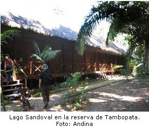 Lago Tambopata en Madre de Dios donde visita Mick Jagger - noticias