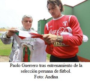 Paolo Guerrero el goleador de la Copa América - noticias