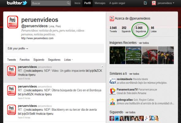 Blog de noticias positivas superó los 3 mil seguidores en Twitter - Noticias de Peru