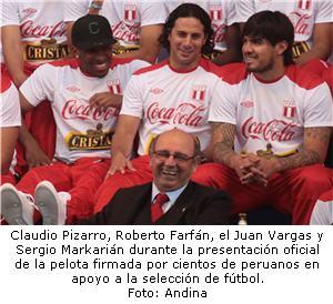 Vargas, Farfán, Pizarro y Markarián listo para encuentro con Paraguay - noticias