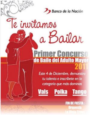 Los adultos mayores participarán en Primer Concurso de Baile organizado por Municipalidad de San Miguel
