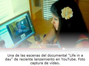 La vida en un día, el documental de cine en YouTube