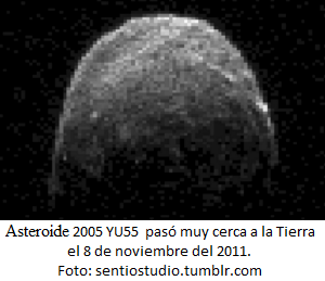 Asteroide pasó muy cerca a La Tierra - noticias