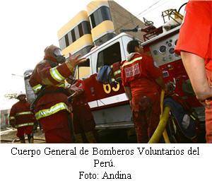 Bomberos voluntarios del Perú - noticias