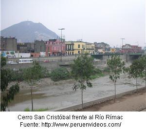 Cerro San Cristóbal turismo en Lima - noticias