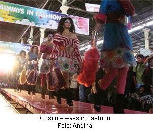 Desfile de Modas en Cusco - noticias