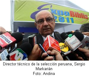 Sergio Markarián director técnico de la selección peruana - noticias