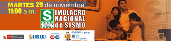 Simulacro de Sismo Tsumani en Perú - noticias