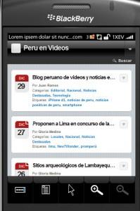 Recibe noticias peruanas en tu móvil o teléfono inteligente - Noticias del Perú