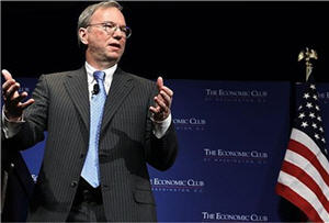 Presidente Ejecutivo de Google, Eric Schmidt  - noticias