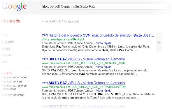 Aprende a buscar archivos PDF en Google - Tips de Google