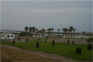 Vista de la albufera en Medio Mundo en Lima