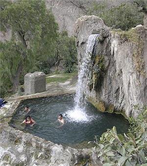 Churin hot springs, medicinal waters