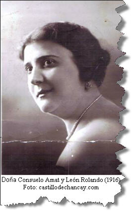 Consuelo Amat was granddaughter of  a viceroy in Peru