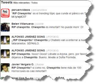 La etiqueta RIP Chespirito está causando pánico en Twitter