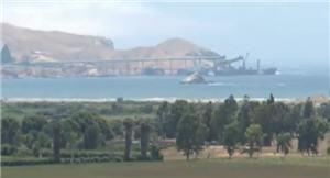 Muelle de minera Antamina en Huarmey - noticias