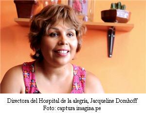 Jacqueline Domhoff, directora, hospital de la alegría - noticias