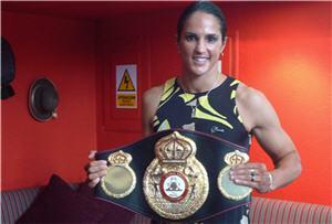 Kina Malpartida, campeona mundial superpluma, box - noticias
