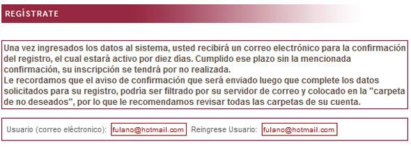 Primer paso para registrarse en Indecopi para no recibir llamadas no deseadas