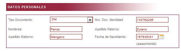 Segundo paso para registrarse en Indecopi y no recibir correos electrónicos no deseados.