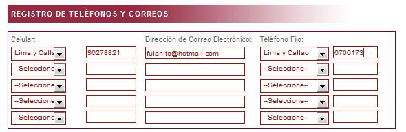 Tercer paso para registrarse en Indecopi y no recibir llamadas con publicidad