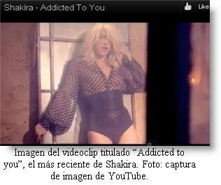 Vídeo de estreno de Shakira en VEVO - Videos de Shakira en Youtube 2012