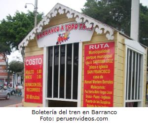 Barranco a todo tren, circuito, paseo, turismo - noticias
