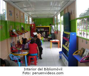 Bibliomóvil, biblioteca, niños, lectura - noticias