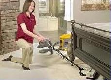 limpieza en los dormitorios para prevenir ácaros