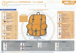 mochila de emergencia, sismo, tsunami, desastre - noticias