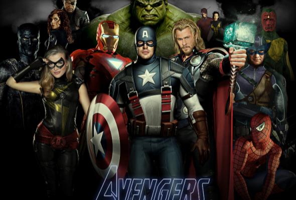 Th,e Avengers, superhéroes, película - noticias