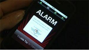 alarma de celular, GPS - noticias