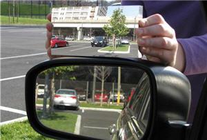 espejo retrovisor, amplia vision, automovil - noticias