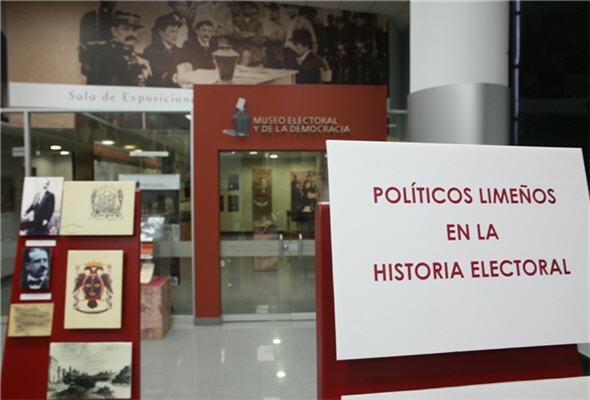 Museo Electoral y de la Democracia, JNE - noticias