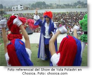Yola cumple 40 años de vida artística - Show de Yola Polastri 2012