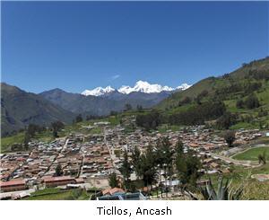 Ticllos, Ancash, turismo - noticias