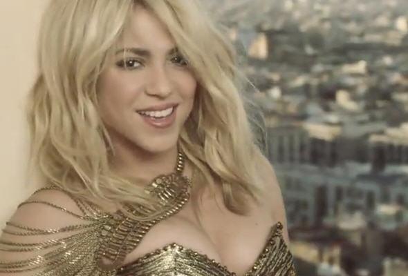 La cantante colombiana Shakira se une a Pitbul en nuevo video Get It Started