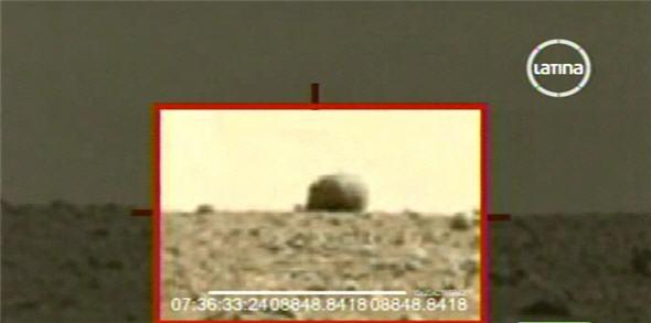 imagen de Curiosity, planeta Marte - noticias