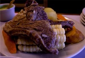 sancochado, comida peruana, gastronomia, sopa de carne - noticias