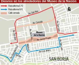 restricción de calles y vias alternas en cumbre ASPA 2012 - noticias
